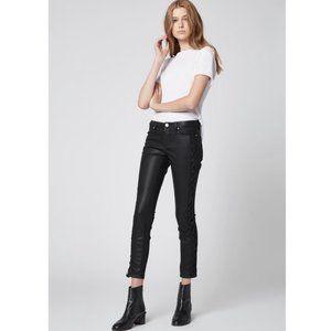 Blank NYC   Faux Leather Reade Crop Skinny Pants